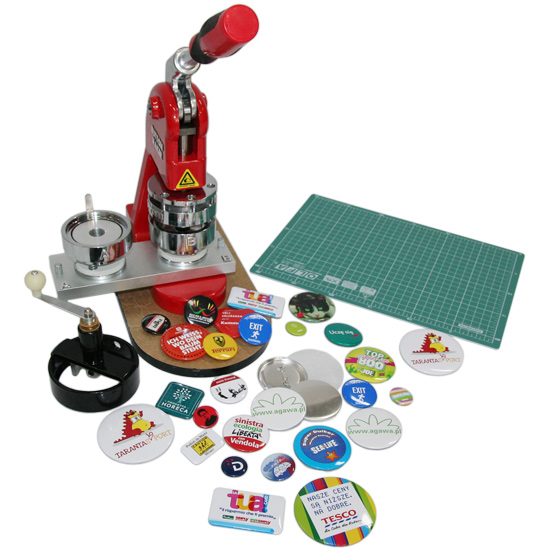 Badge machine - starter set
