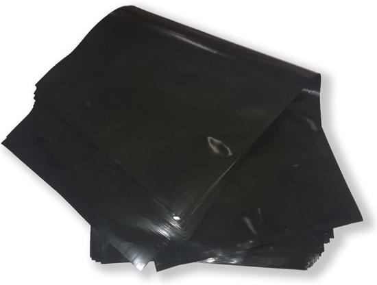 Black foil bag, non-sticks
