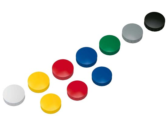Colorful circle magnets