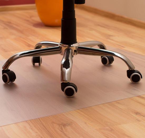 Non Slip Chair Mat Flat