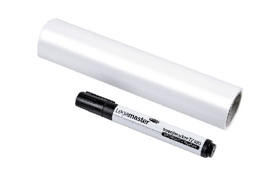 Magic Chart whiteboard - self-adhesive flipchart film with marker