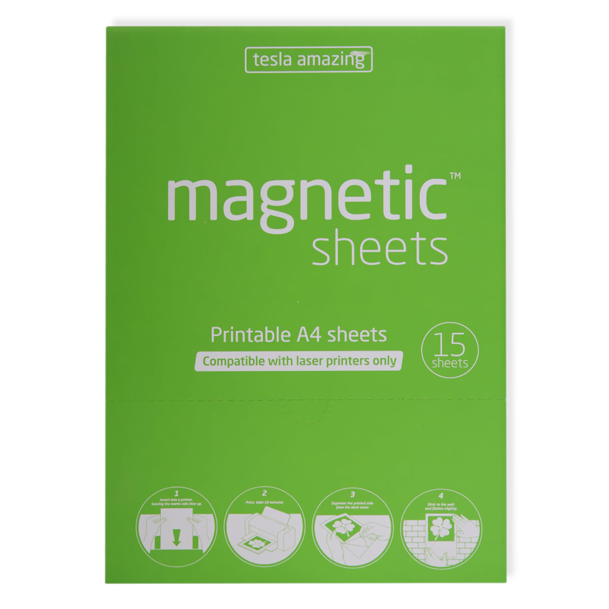 Magnetic sheets for laser printers Brand: magnetic SHEETS Dimension ...
