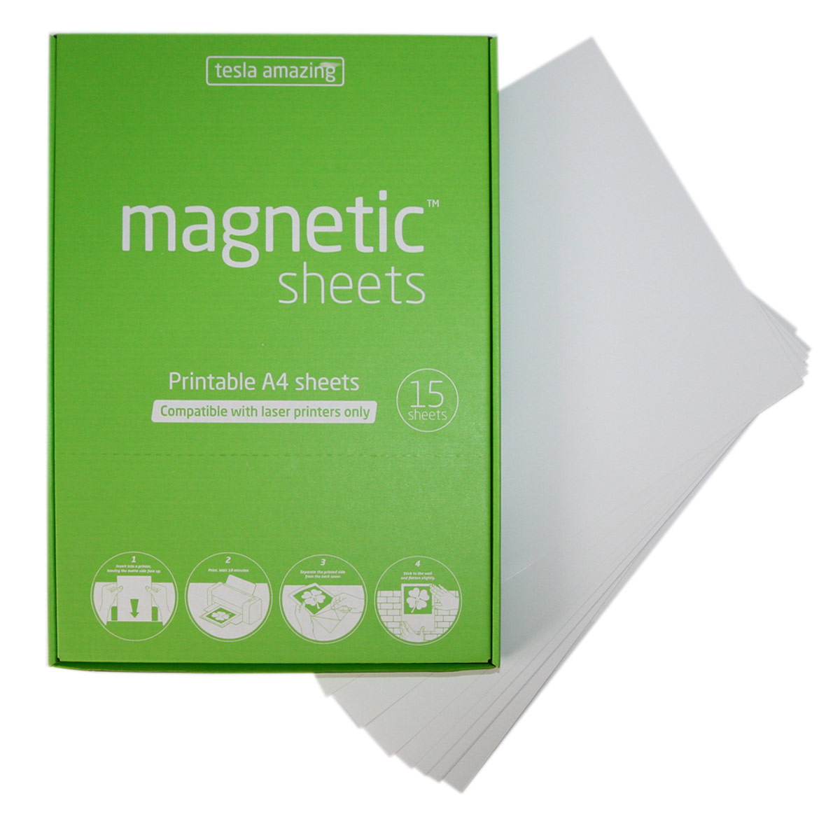 graphic relating to Laser Printable Magnetic Sheets identify Magnetic sheets for laser printers