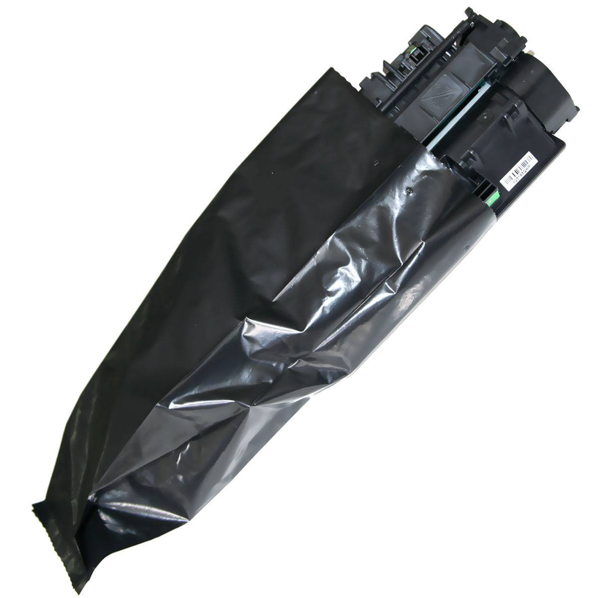 Black foil bag, non-sticks
