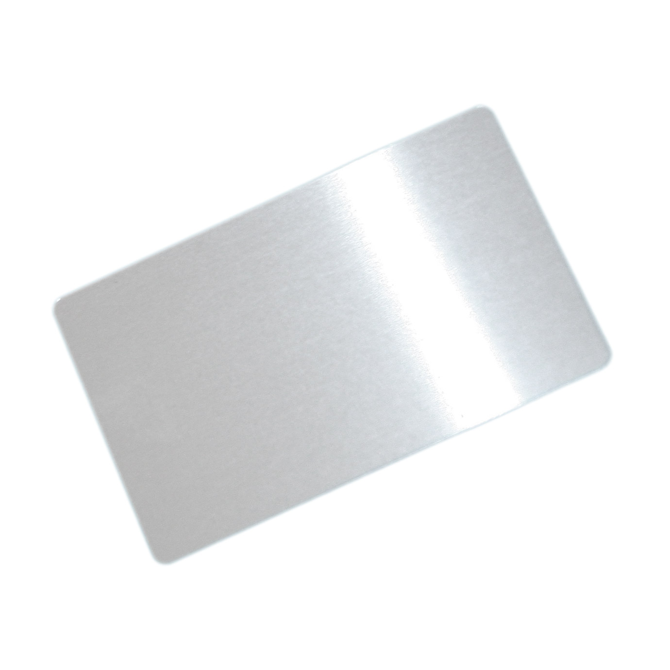 Aluminium business card for sublimation overprint Dimension: 8,5 x 5 ...