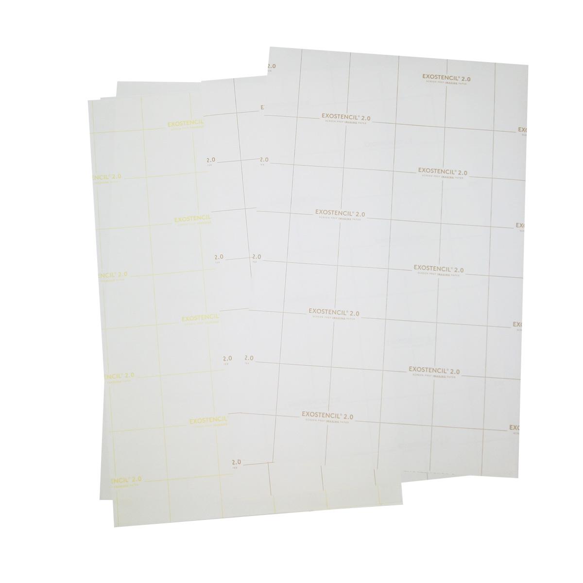 Exostencil - Screen prep paper