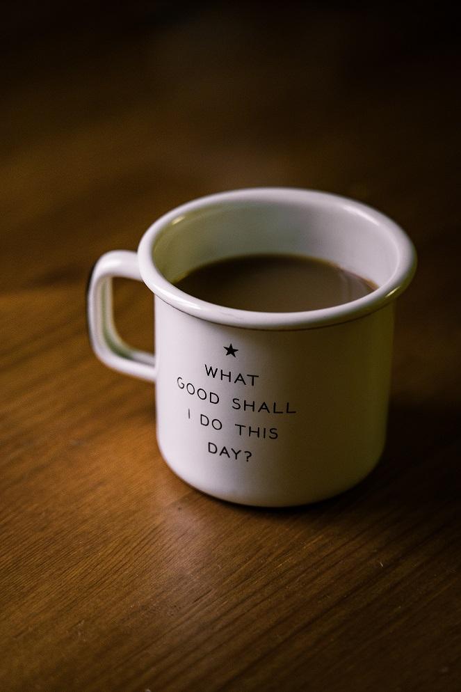 Enamel steel mug for sublimation