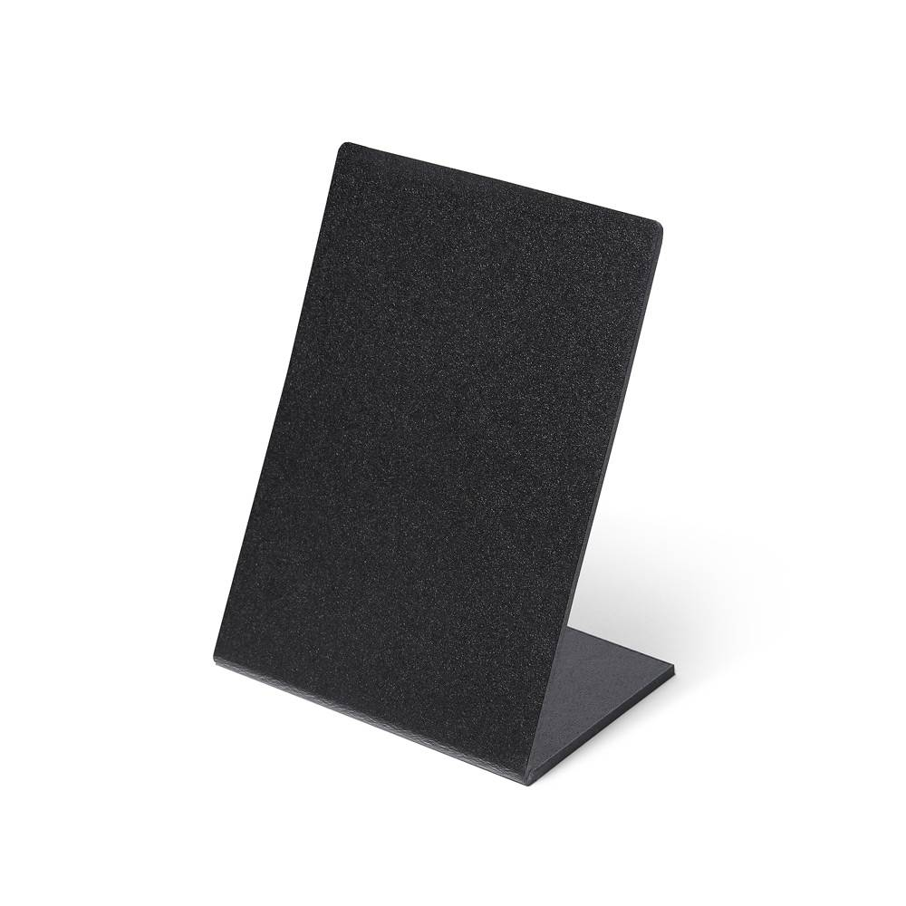 Black Price stand L - 5 pieces
