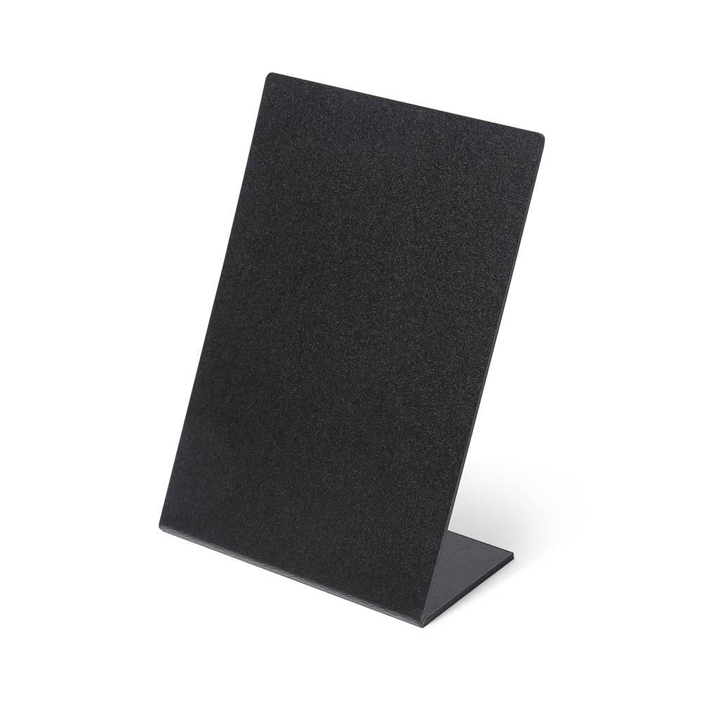Black Price stand L - 5 pieces