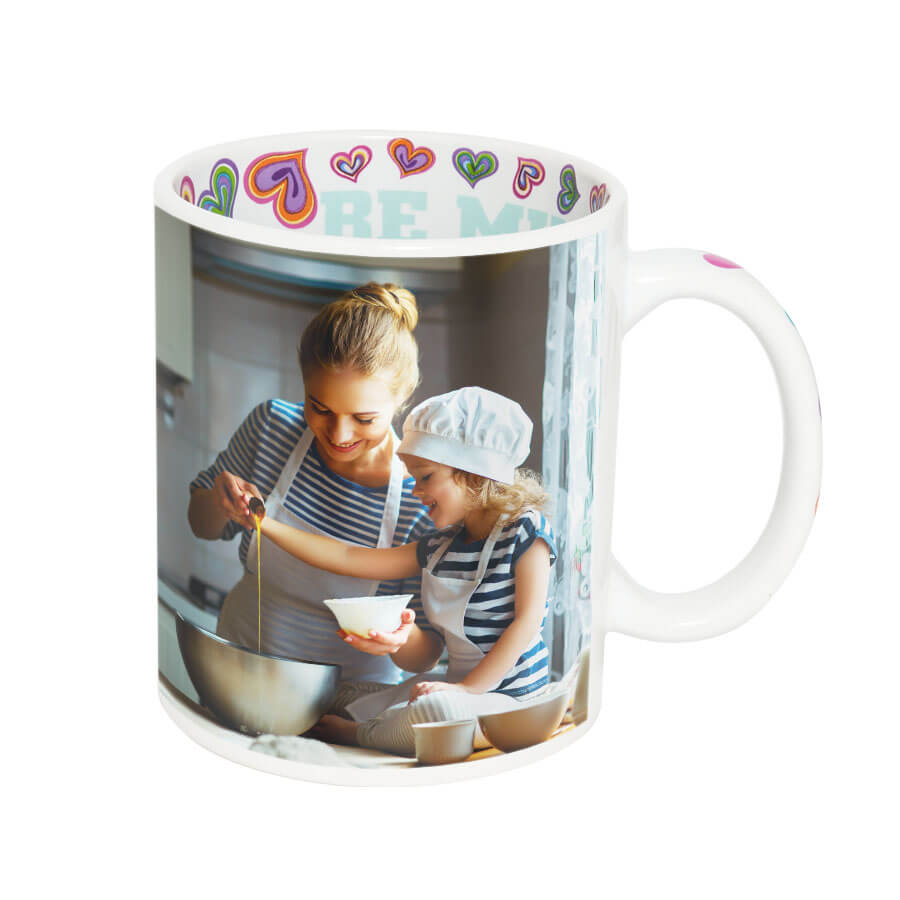 I love you mug for sublimation overprint