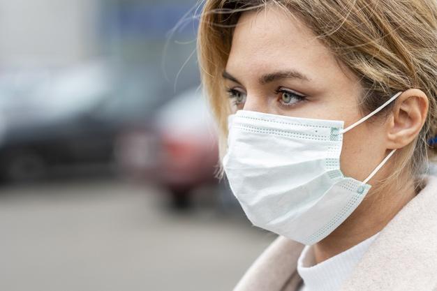 Disposable face protection mask - 50 pcs
