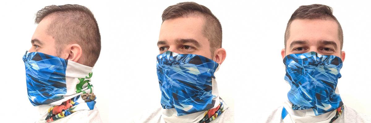 Buff scarf for sublimation outprint