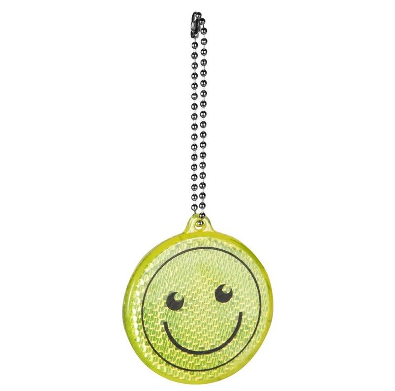 Reflective keyring - smile