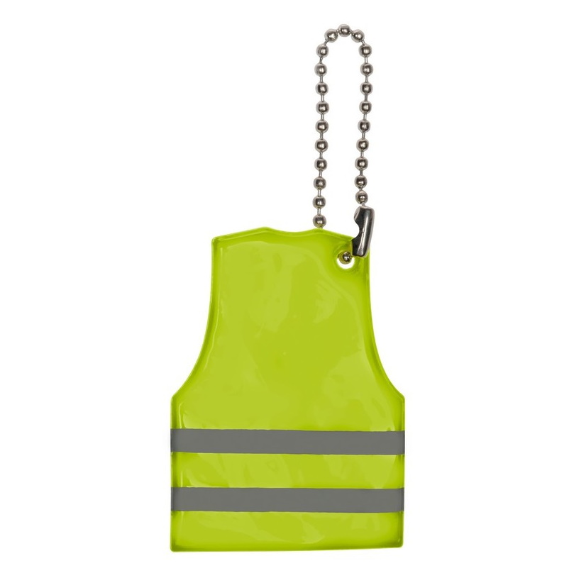 Reflective keyring - vest