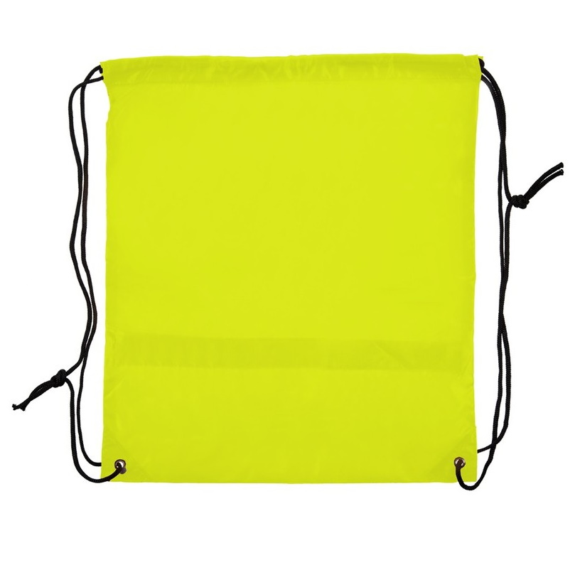 Reflective shoes bag with black string for sublimation