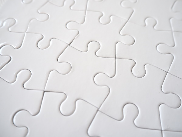 Puzzles for sublimation - 24 elements