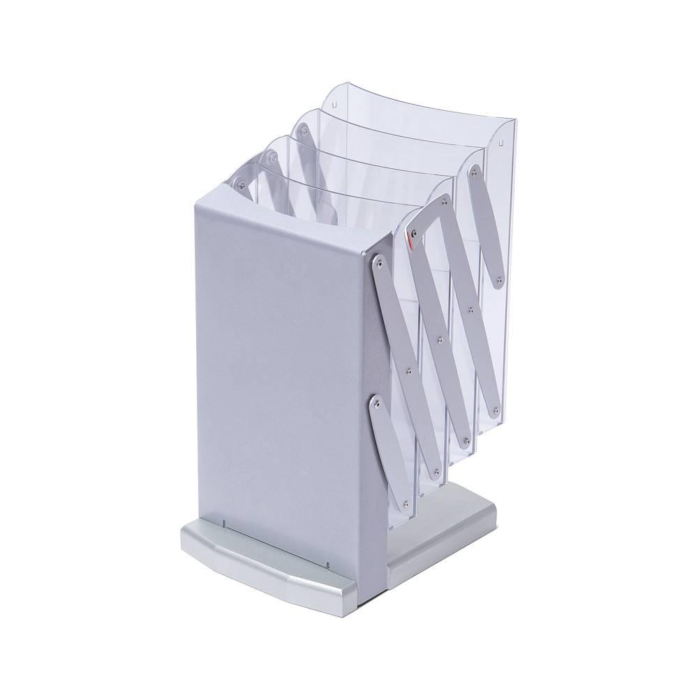 Folded leaflet holder exhibition (A4 size)