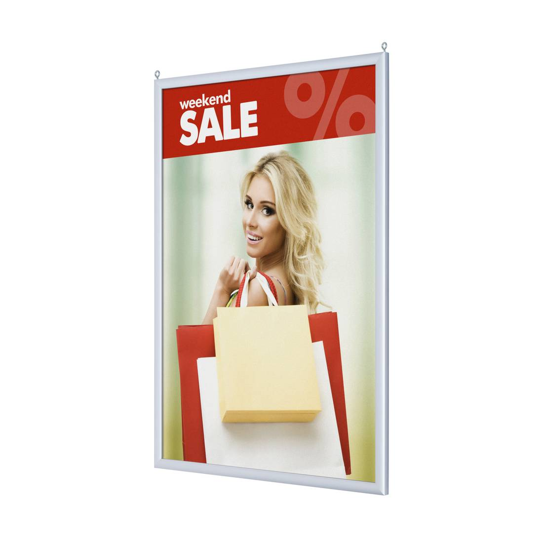 Double-sided poster frame with sharp corners Dimension: A2 Szerokość ...