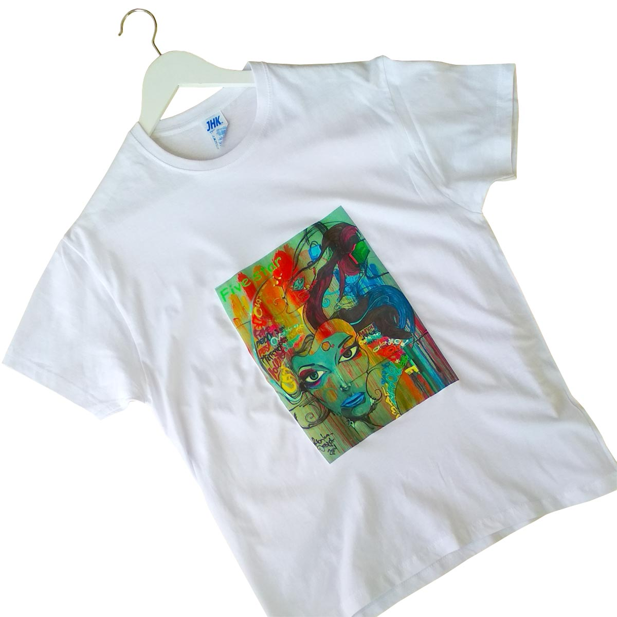 Five star - Transfer paper for light textiles for laser printers