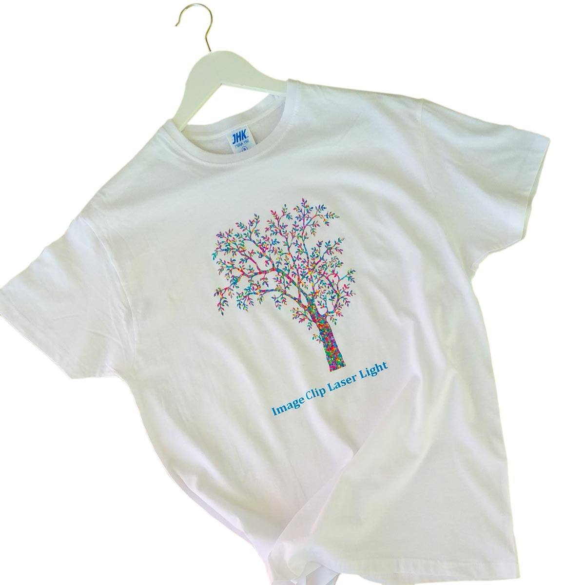 Image Clip Laser Light without background - Transfer paper for light textiles for laser printers