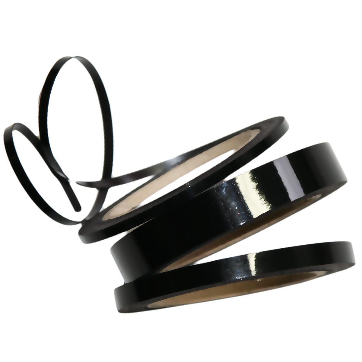 Dry erase magnetic strip - black