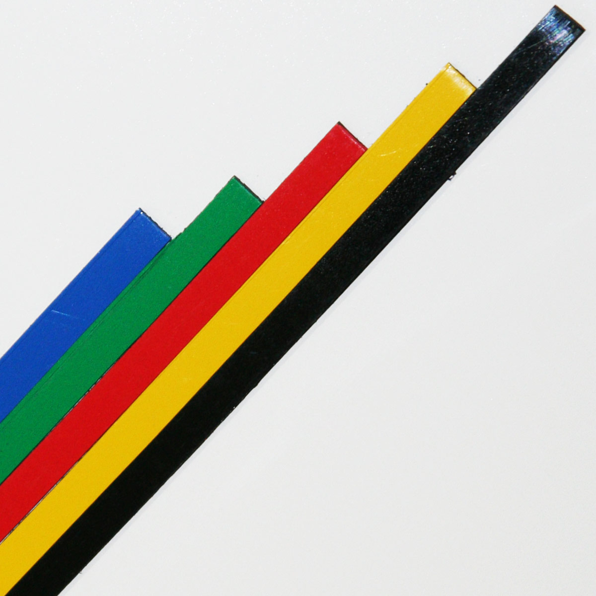 Self adhesive divider tape for planning boards