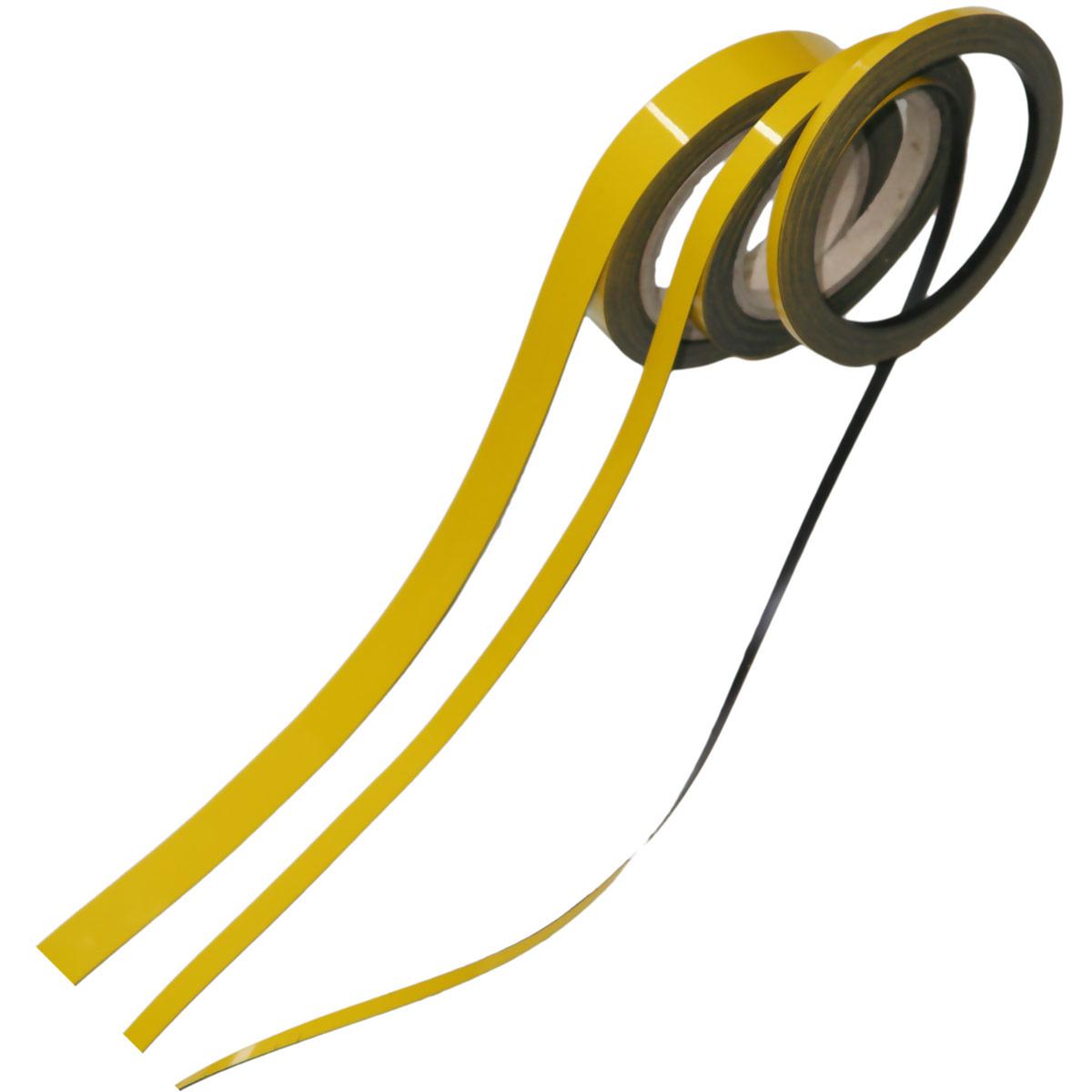Magnetic strip Dimension: 0,5 cm x 1 m Thickness: 0,85 mm Colour ...