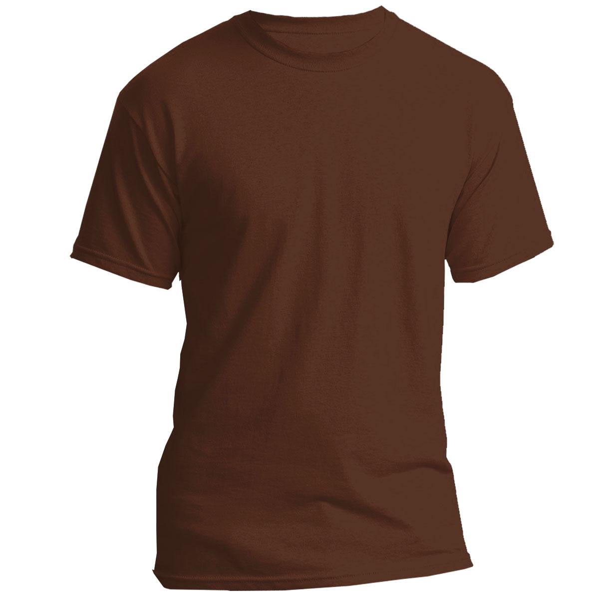 c7db76fd3525 T-shirt Regular Premium for printing Basic weight: 190 g/m² Size: L Colour: dark  brown
