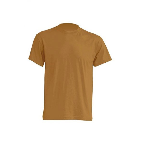 b55996271279 T-shirt Standard for printing Basic weight: 150 g/m² Size: S Colour: light  brown
