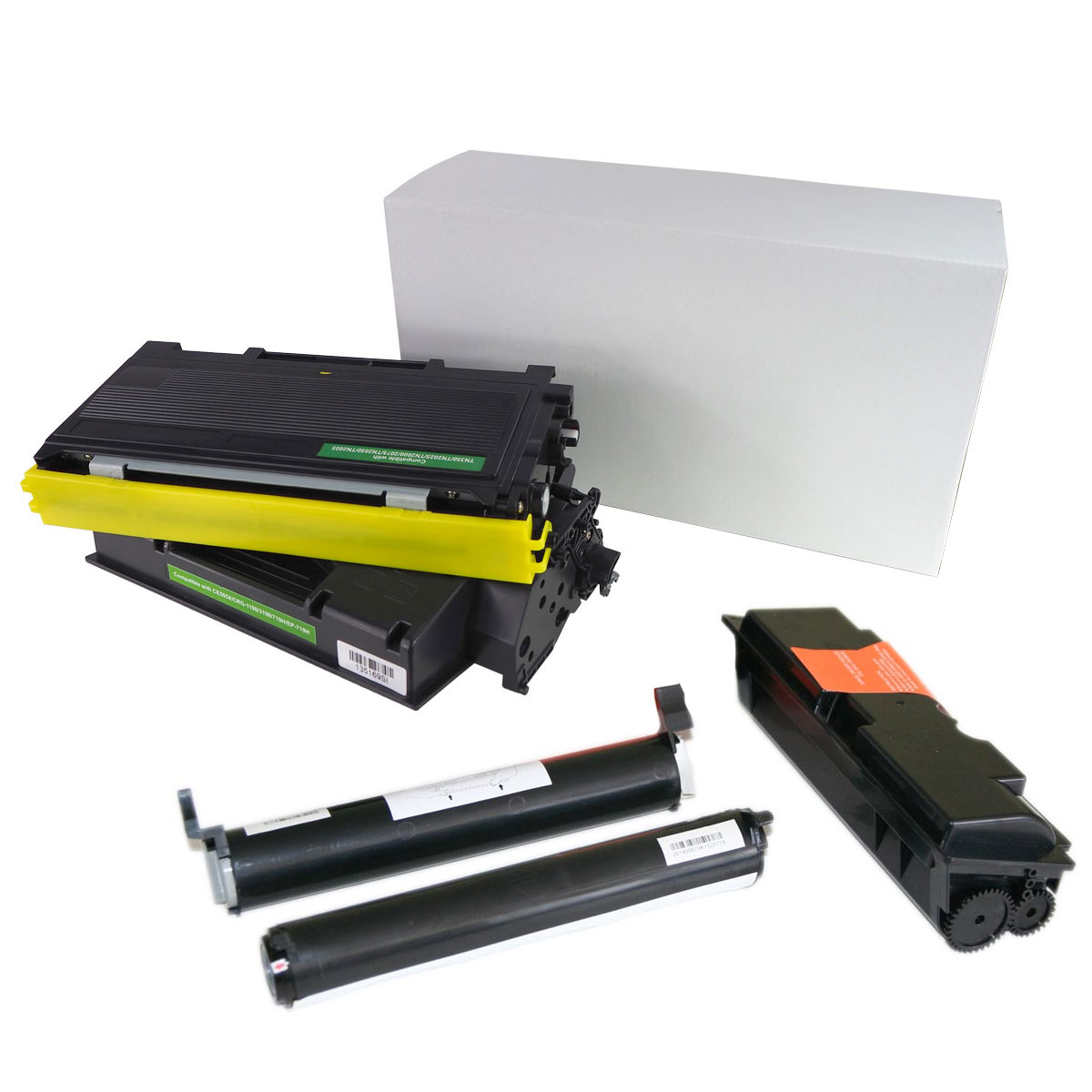 Laser toner cartridge compatible with Canon i-Sensys LBP 223 dw with chip