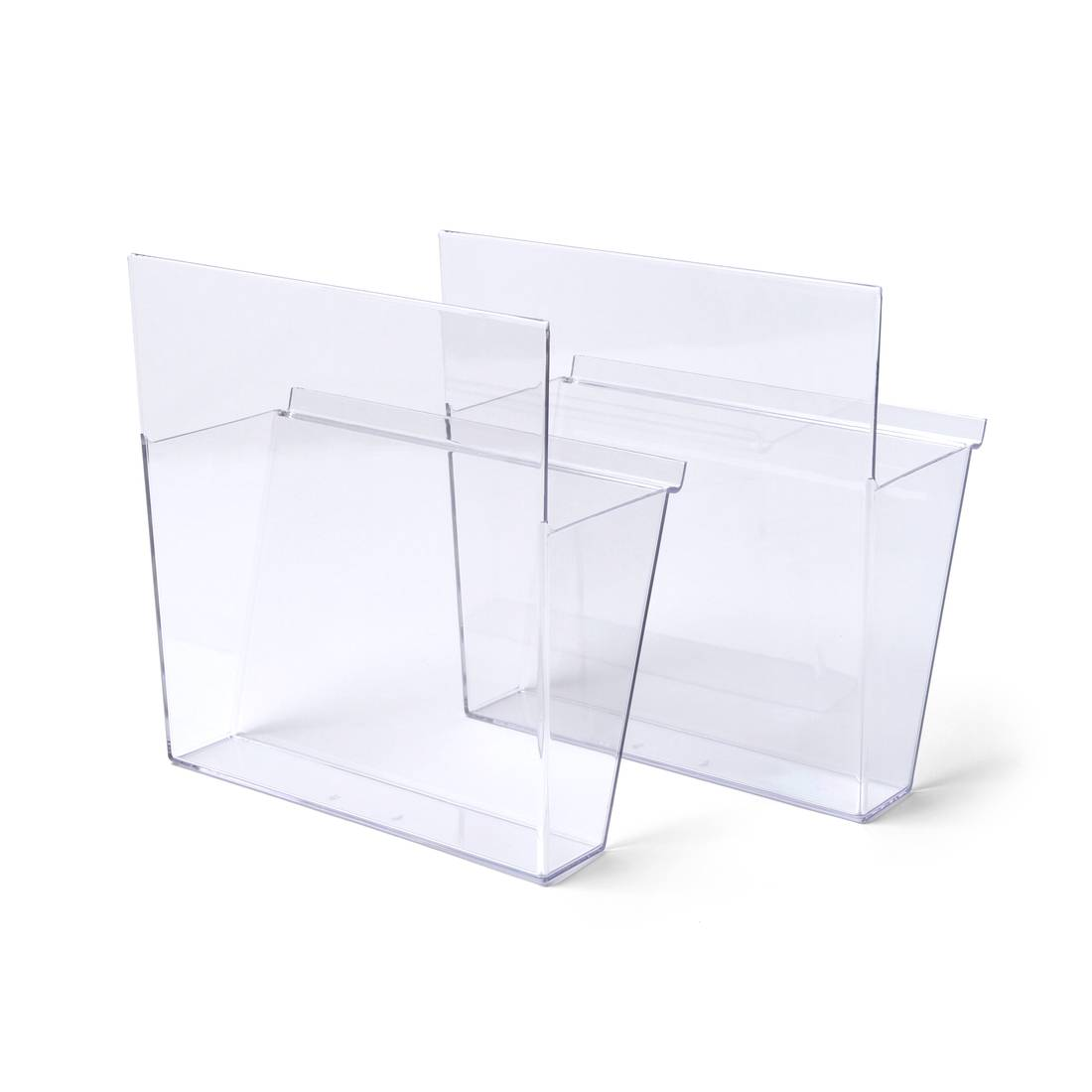 Acrylic shelf for BRT leaflet stand and wall-mounted BRT leaflet rack - 1 piece