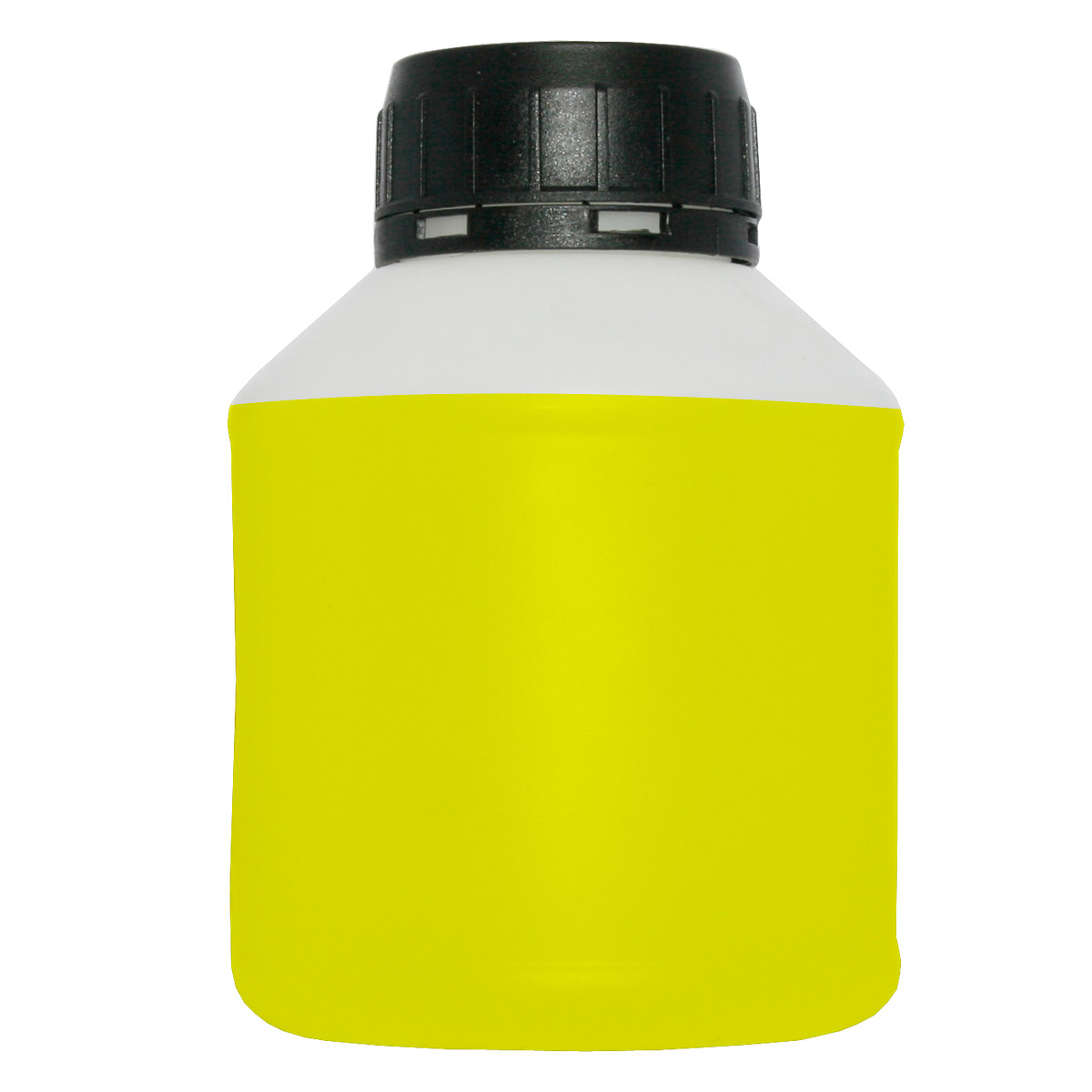 Cleaning fluid for print heads - yellow, inside